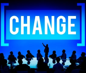 Change Solutions New Innovation Development Concept