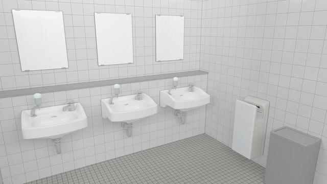 職場のトイレにもある法定基準