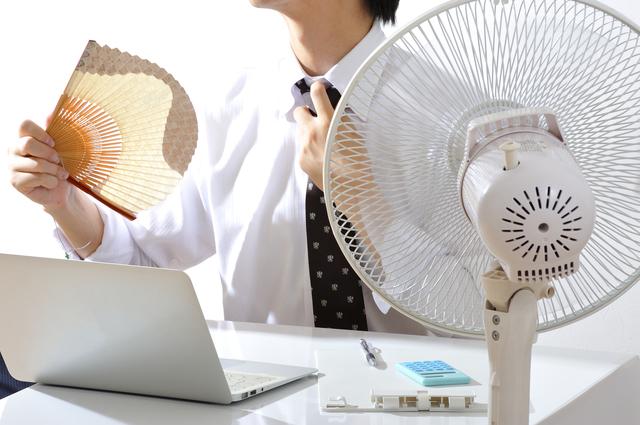 暑すぎる職場と法律の規制